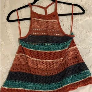 knit american eagle top